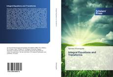 Bookcover of Integral Equations and Transforms