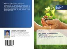 Buchcover von Advanced hydrogenation techniques