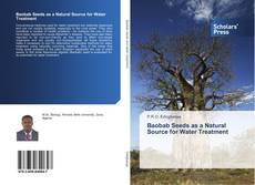 Buchcover von Baobab Seeds as a Natural Source for Water Treatment