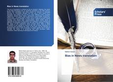 Bookcover of Bias in News translation