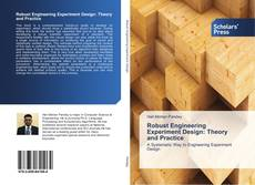 Обложка Robust Engineering Experiment Design: Theory and Practice