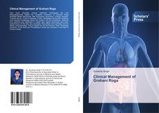 Clinical Management of Grahani Roga的封面