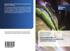 Capa do livro de Characterization of Pneumococcal isolates from patients in Ethiopia