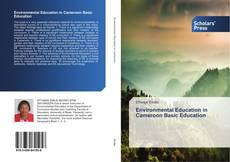 Environmental Education in Cameroon Basic Education kitap kapağı