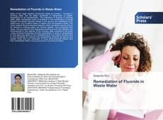 Buchcover von Remediation of Fluoride in Waste Water