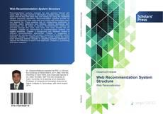 Portada del libro de Web Recommendation System Structure