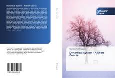 Bookcover of Dynamical System - A Short Course