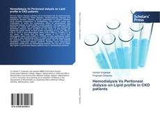 Bookcover of Hemodialysis Vs Peritoneal dialysis on Lipid profile in CKD patients