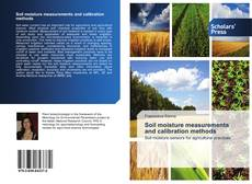 Bookcover of Soil moisture measurements and calibration methods
