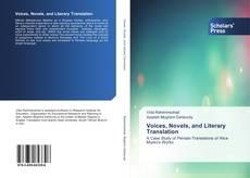 Capa do livro de Voices, Novels, and Literary Translation