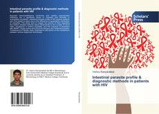 Portada del libro de Intestinal parasite profile & diagnostic methods in patients with HIV
