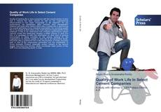 Bookcover of Quality of Work Life In Select Cement Companies