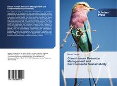 Bookcover of Green Human Resource Management and Environmental Sustainability