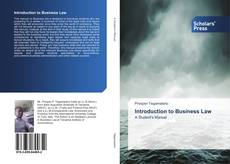 Bookcover of Introduction to Business Law