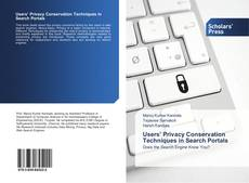 Bookcover of Users' Privacy Conservation Techniques in Search Portals