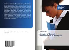 Обложка Analysis of Gender Discrimination at Workplace