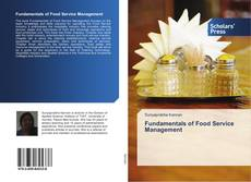 Bookcover of Fundamentals of Food Service Management