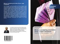 Bookcover of Money Laundering and Indian Socio- Legal Framework