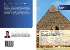Bookcover of The Arab Spring in Egypt: the Role of Social Media