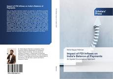 Bookcover of Impact of FDI Inflows on India's Balance of Payments