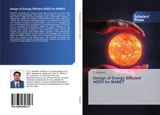 Capa do livro de Design of Energy Efficient AODV for MANET