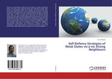 Bookcover of Self-Defence Strategies of Weak States vis-à-vis Strong Neighbours