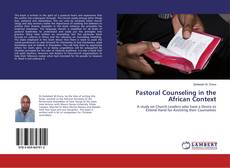 Couverture de Pastoral Counseling in the African Context