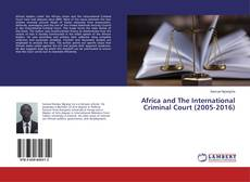 Capa do livro de Africa and The International Criminal Court (2005-2016)