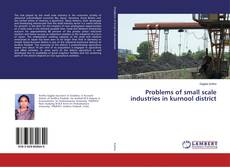 Copertina di Problems of small scale industries in kurnool district