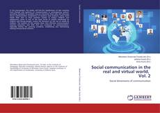 Borítókép a  Social communication in the real and virtual world, Vol. 2 - hoz