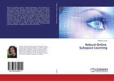 Bookcover of Robust Online Subspace Learning