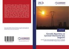 Couverture de Genetik Algoritma ve Çevresel Ekonomik Güç Dağıtımı