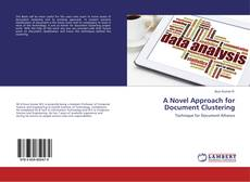 Capa do livro de A Novel Approach for Document Clustering