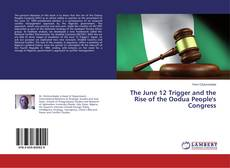 Buchcover von The June 12 Trigger and the Rise of the Oodua People's Congress