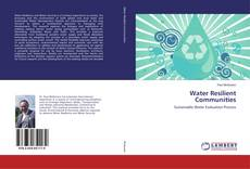 Bookcover of Water Resilient Communities