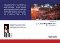 Portada del libro de Culture in Nepal-Himalaya