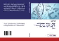 Portada del libro de Effectiveness miR-93, miR-20a, miR-20b, RORC, STAT3, CD4+, SMAD6, SMAD7, MTO