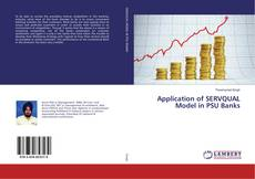 Portada del libro de Application of SERVQUAL Model in PSU Banks