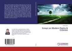 Capa do livro de Essays on Modern Poetry & Criticism