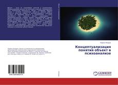 Bookcover of Концептуализация понятия объект в психоанализе