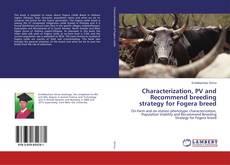 Portada del libro de Characterization, PV and Recommend breeding strategy for Fogera breed