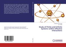 Bookcover of Study of Finite and Infinite Systems within Effective Interactions