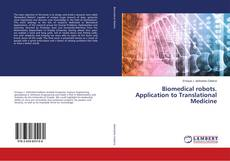 Capa do livro de Biomedical robots. Application to Translational Medicine