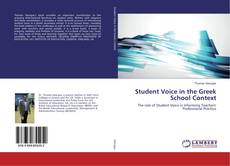 Capa do livro de Student Voice in the Greek School Context
