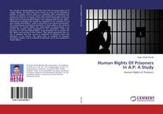 Borítókép a  Human Rights Of Prisoners In A.P: A Study - hoz