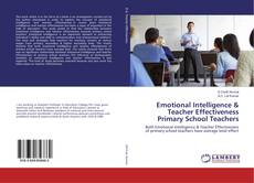 Bookcover of Emotional Intelligence & Teacher Effectiveness Primary School Teachers