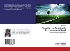 Capa do livro de Education for Sustainable Development in Nepal