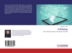 Bookcover of E-thinking