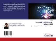 Cultural Continuity & Mass Media的封面