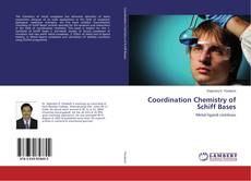 Bookcover of Coordination Chemistry of Schiff Bases
